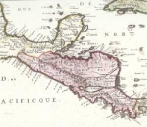 Audiencias del Reino de la Nueva España. La Real Audiencia de Guatemala será la máxima institución jurisdiccional de Centro América hasta su extinción después de la independencia de 1821.