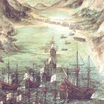Importancia comercial estratégica. Por muchos años, durante la época colonial las flotas europeas usaron a Acajutla como un punto importante en el tráfico comercial del Mar del Sur, entre México y Perú.