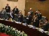 Junta Directiva de Asamblea Legislativa escuchó atenta el balance de dos años de gestión del Ejecutivo. Foto La Prensa.