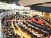 Asamblea Legislativa fue adecuada para recibir a los invitados a escuchar el balance del Órgano Ejecutivo.