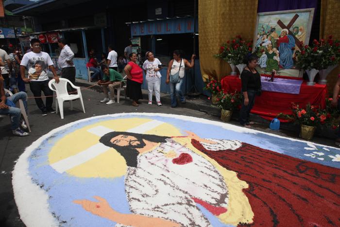 Jueves santo en El Salvador   Semana Santa 2012