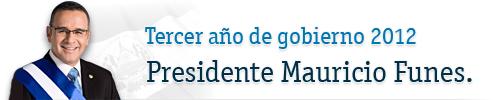 Pdte. Mauricio Funes