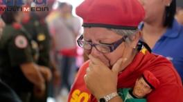 CONTINÚAN VISITAS A LOS RESTOS DEL PRESIDENTE HUGO CHÁVEZ EN VENEZUELA